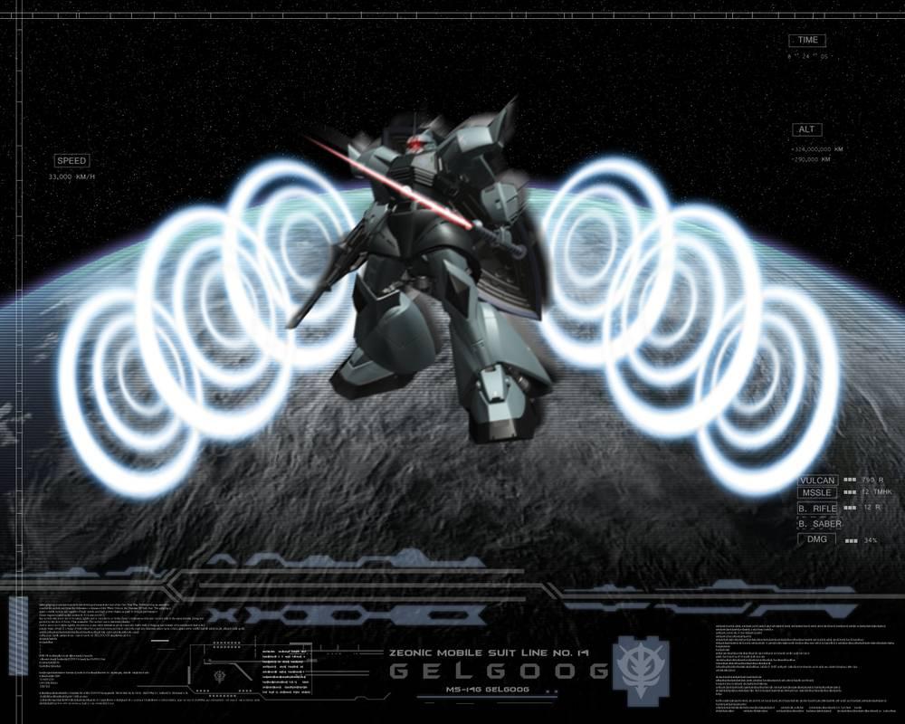 MS 14 Gelgoog Wallpaper Gift by MetalForce 1000x800