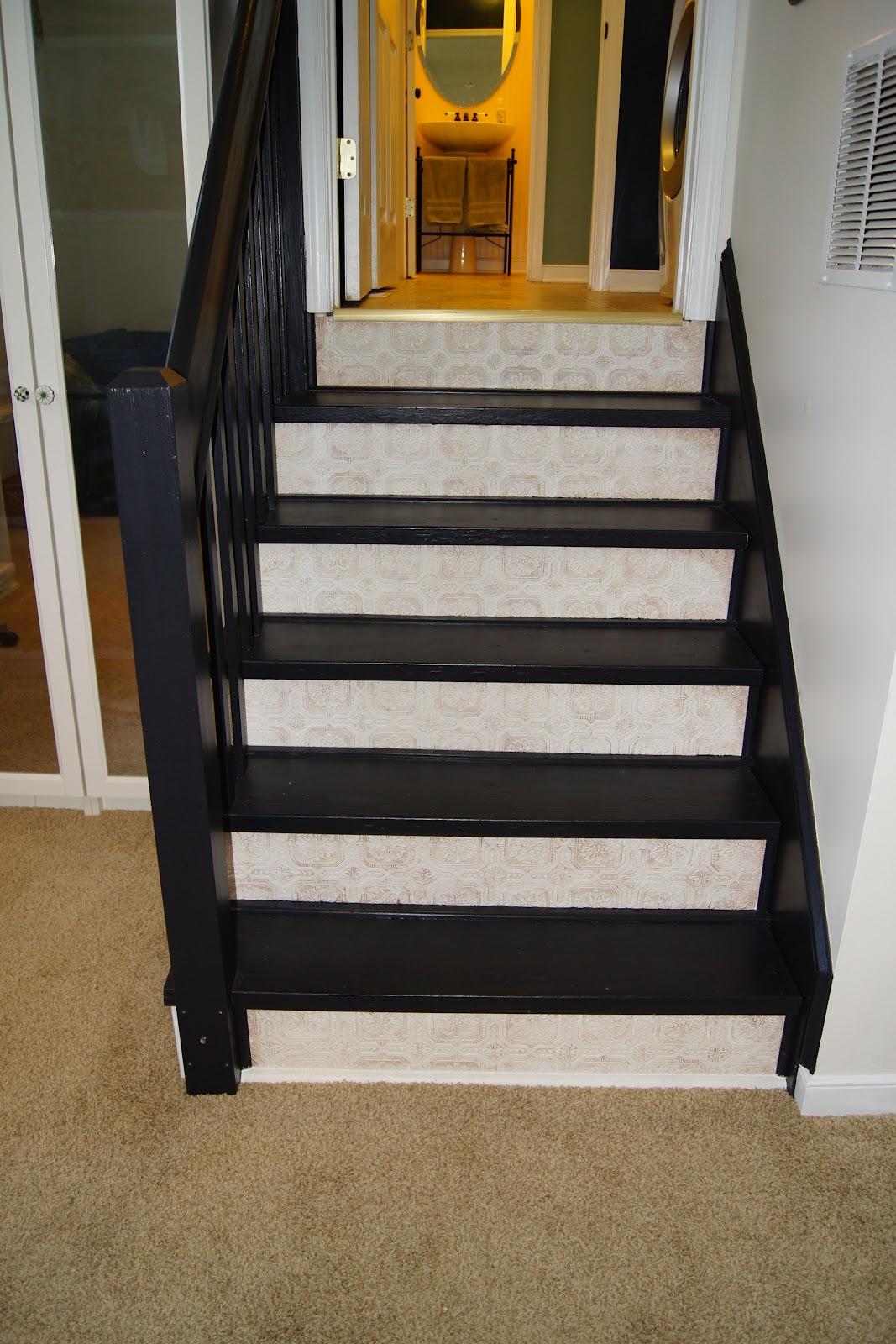 Removable Wallpaper For Stair Risers Wallpapersafari