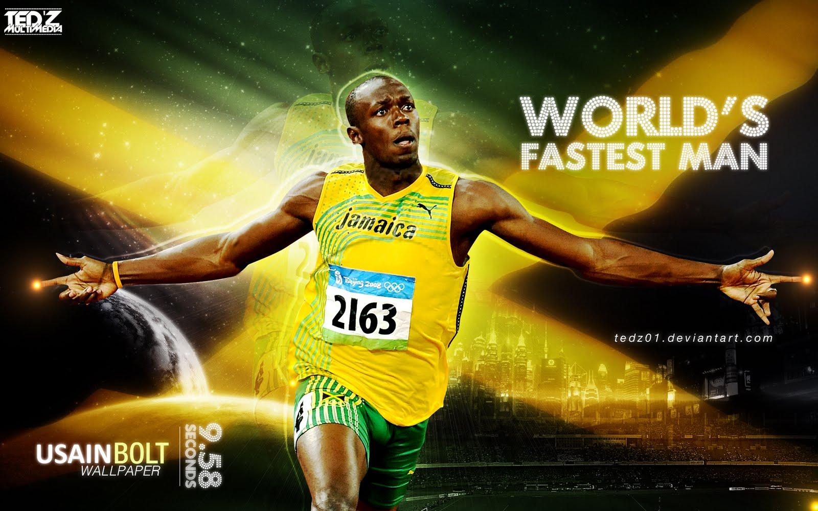 World Sport Life Usain Bolt Wallpapers 1600x1000