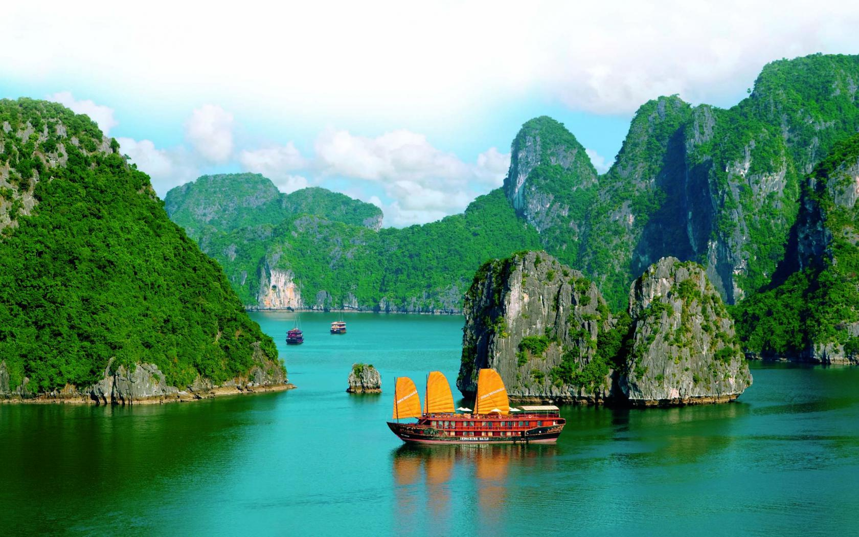 Cool Wallpapers of Beautiful Nature in Vietnam HD Wallpapers for 1680x1050