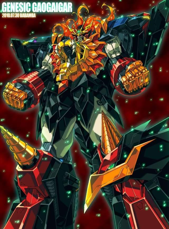 Genesic GaoGaiGar Wiki Anime Amino 640x868