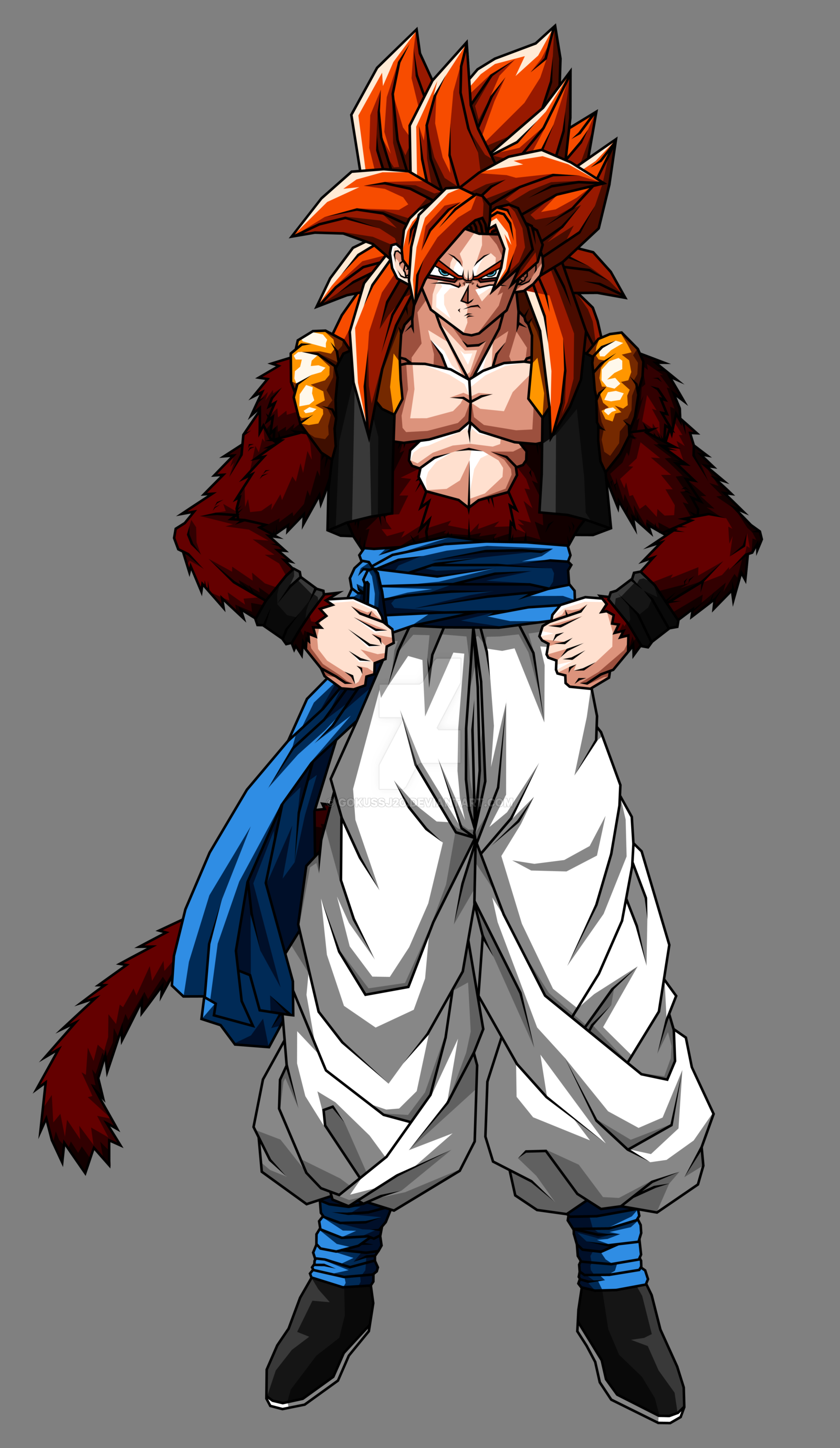 Gogeta ssj4 wallpaper wallpapersafari - Dragon ball gt goku wallpaper ...