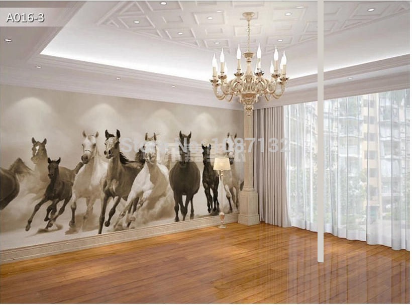 Equestrian wallpaper wall coverings wallpapersafari for Cheap wallpaper for walls