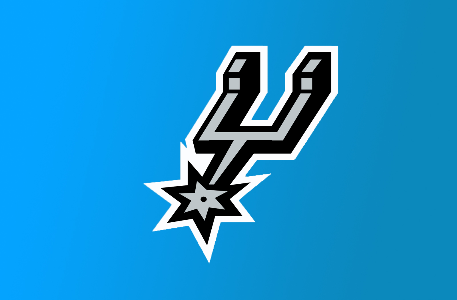 San Antonio Spurs Logo Desktop Wallpaper HD large resolution 1600x1050