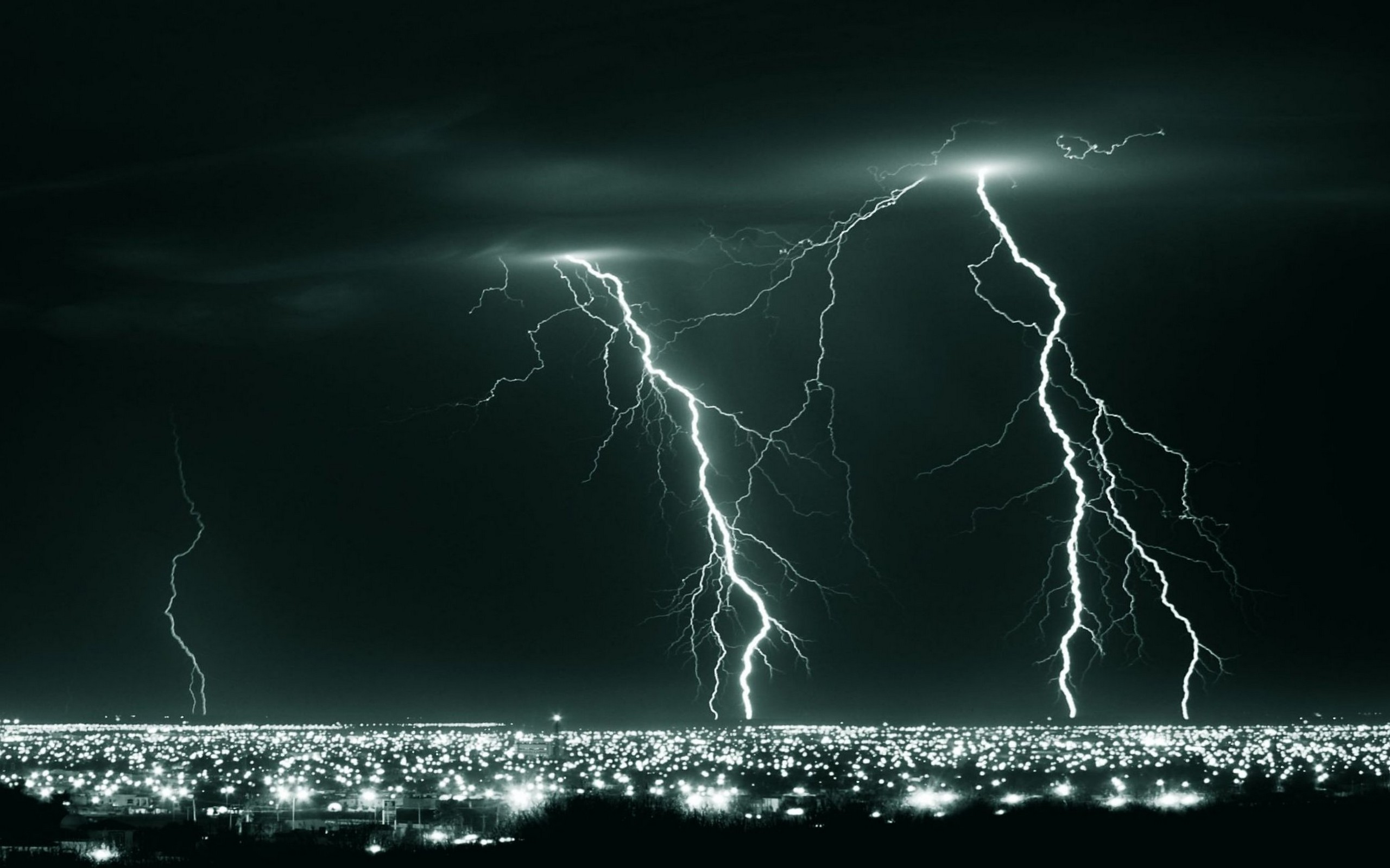 Desktop Lightning HD Wallpapers 2560x1600
