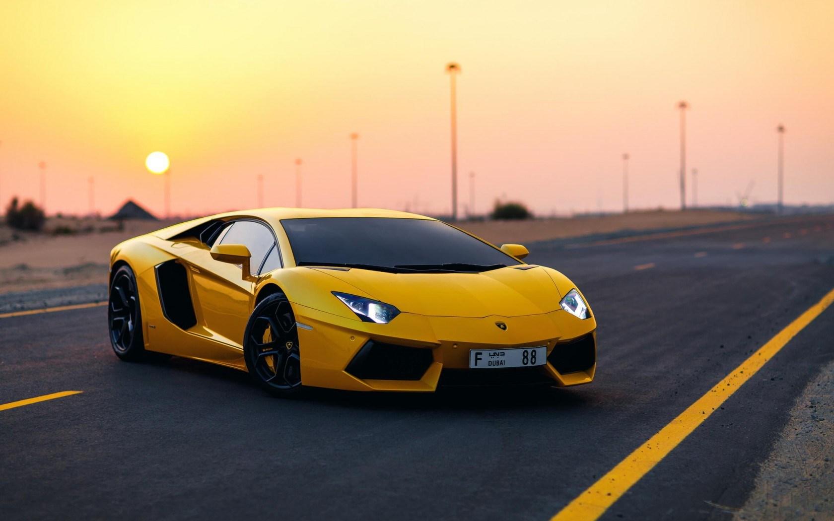 Yellow Lamborghini Wallpaper 35093 1680x1050px 1680x1050