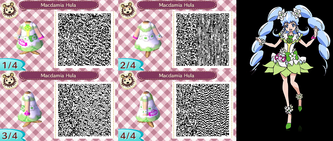 Free Download Animal Crossing Qr Codes Macadamia Hula By
