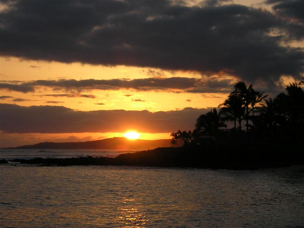 My Wallpapers Corner Beauty Hawaii Sunset Wallpaper 1024x768
