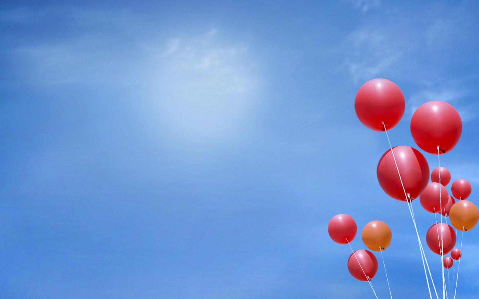 The hydrogen balloon close up wallpaper Auto desktop background 1680x1050