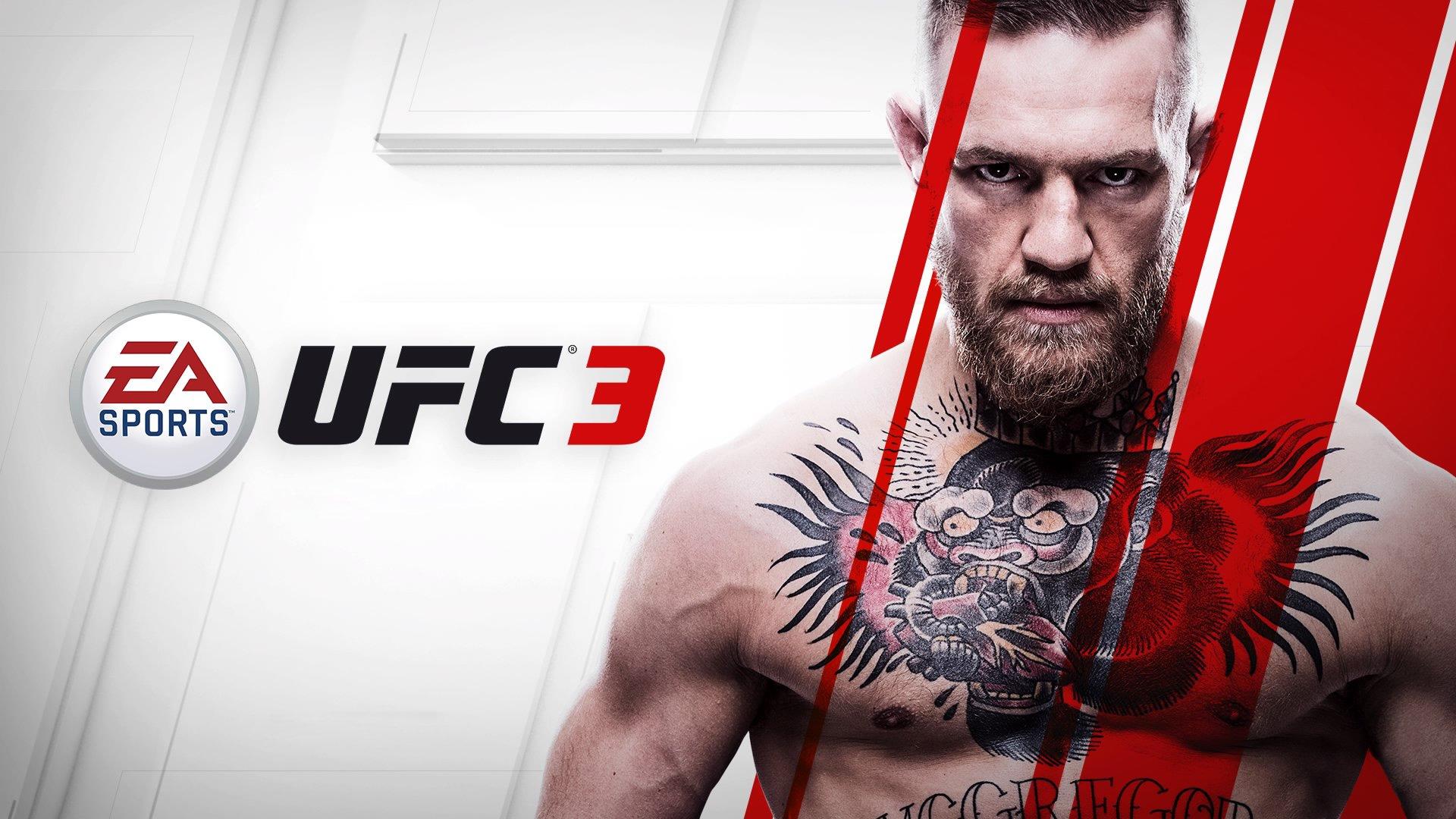 EA Sports UFC 3 Conor Mcgregor HD Wallpaper Background Image 1920x1080