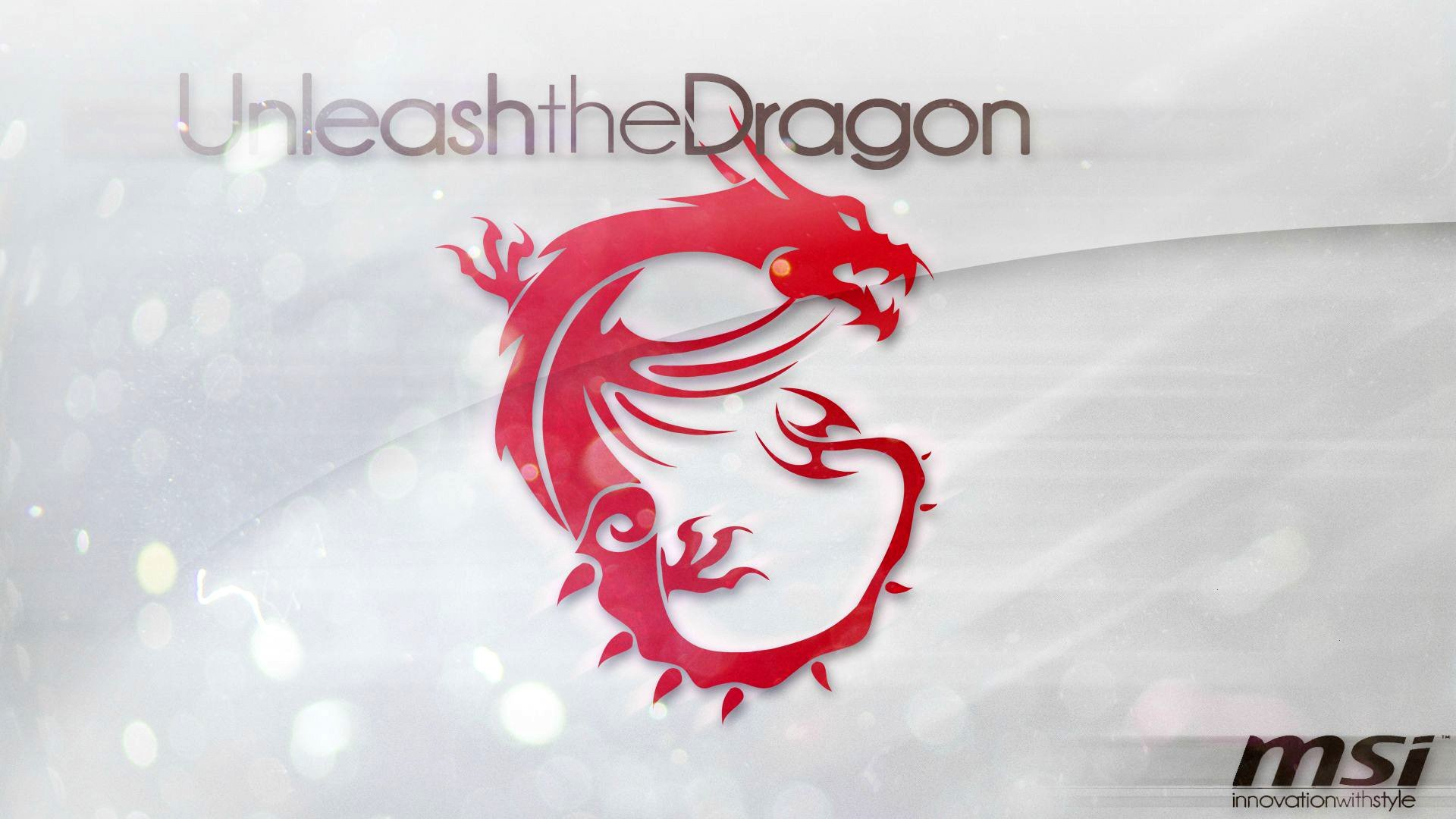msi red dragon logo hd 1920x1080 1080p wallpaper compatible for 1920x1080