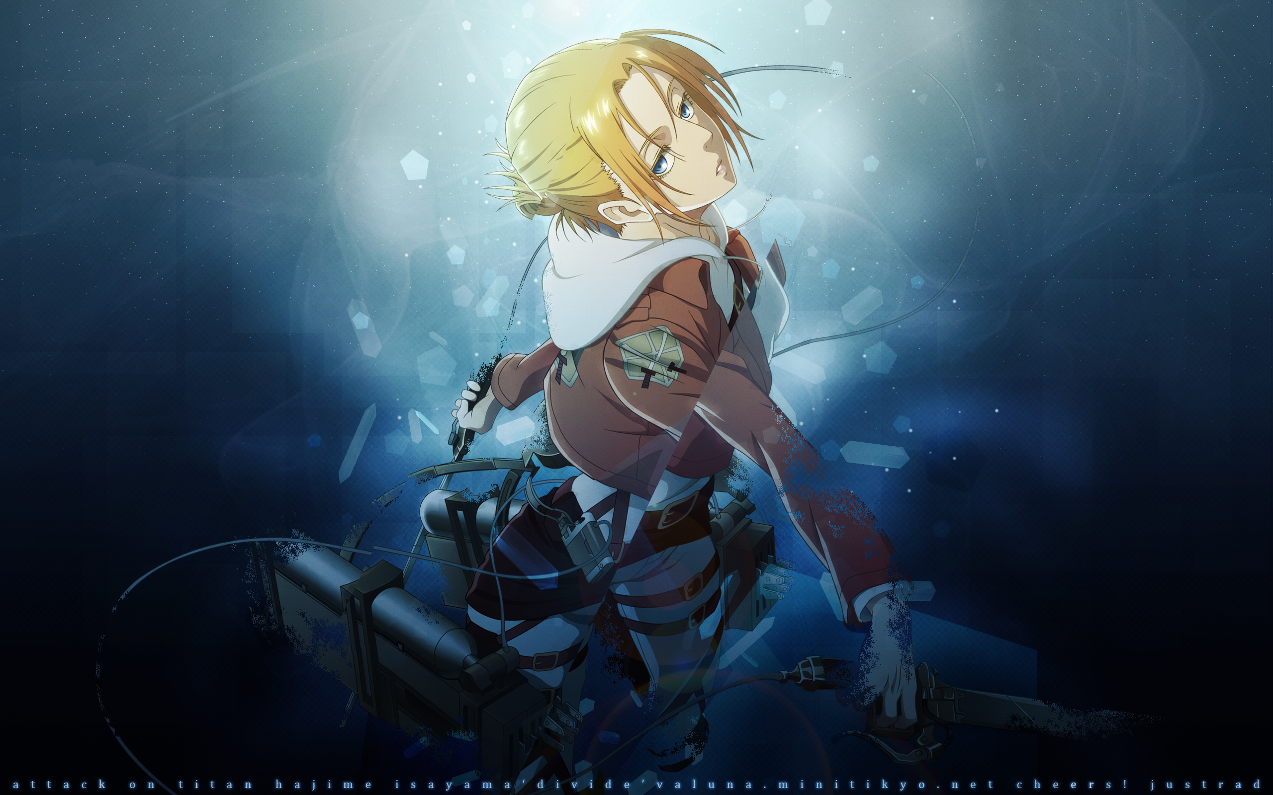 no Kyojin   Annie Leonhardt Computer Wallpapers Desktop Backgrounds 2560x1600