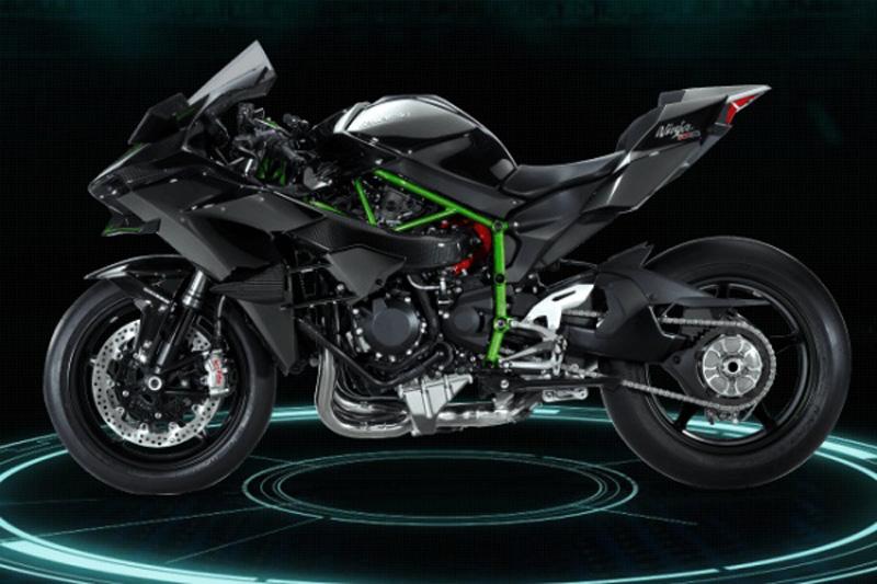 La Kawasaki Ninja H2R Se Presenta 300 CV Y Turbo Taringa 800x533