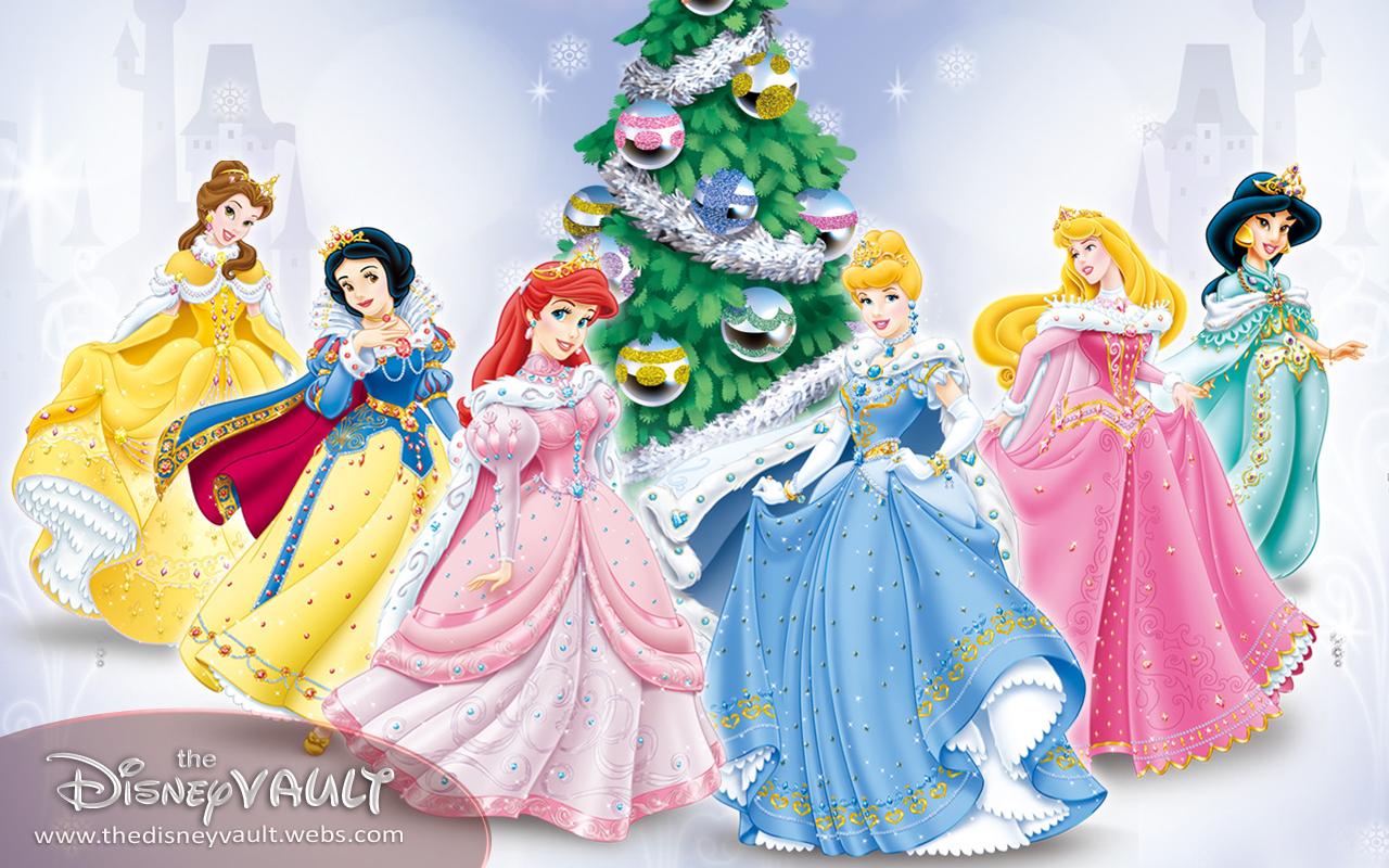 Disney Princess Christmas Wallpaper - WallpaperSafari