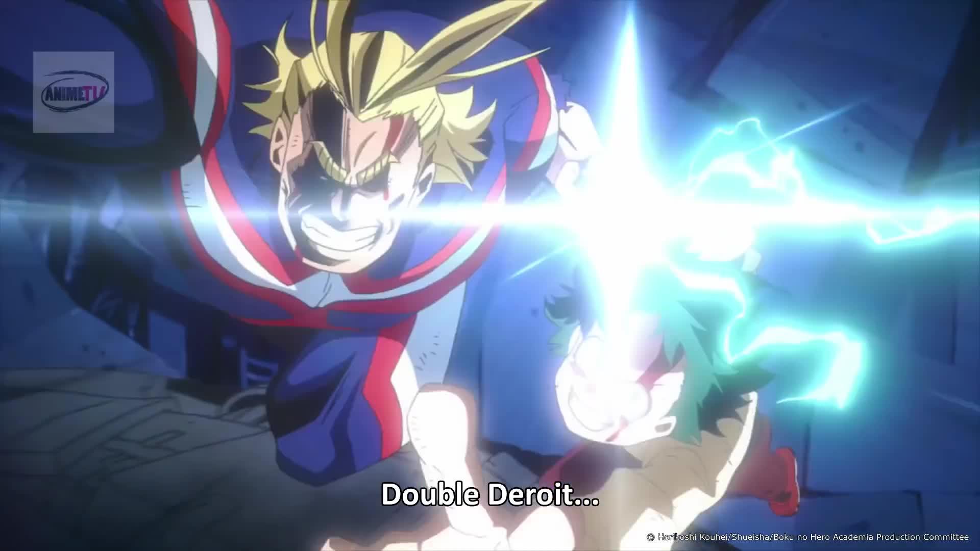 Double Detroit Smash My Hero Academia Two Heroes GIF by 1920x1080