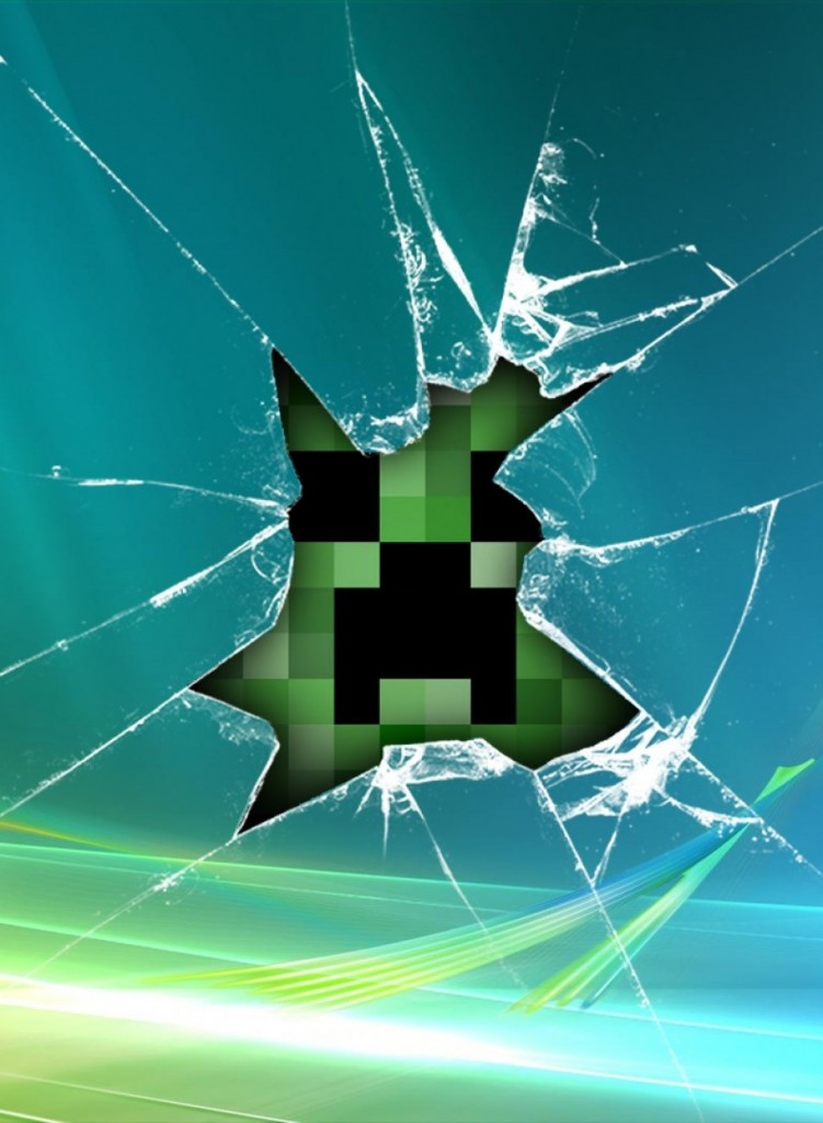 cropped wallpapers for gt minecraft wallpaper diamond creeper 751x1024
