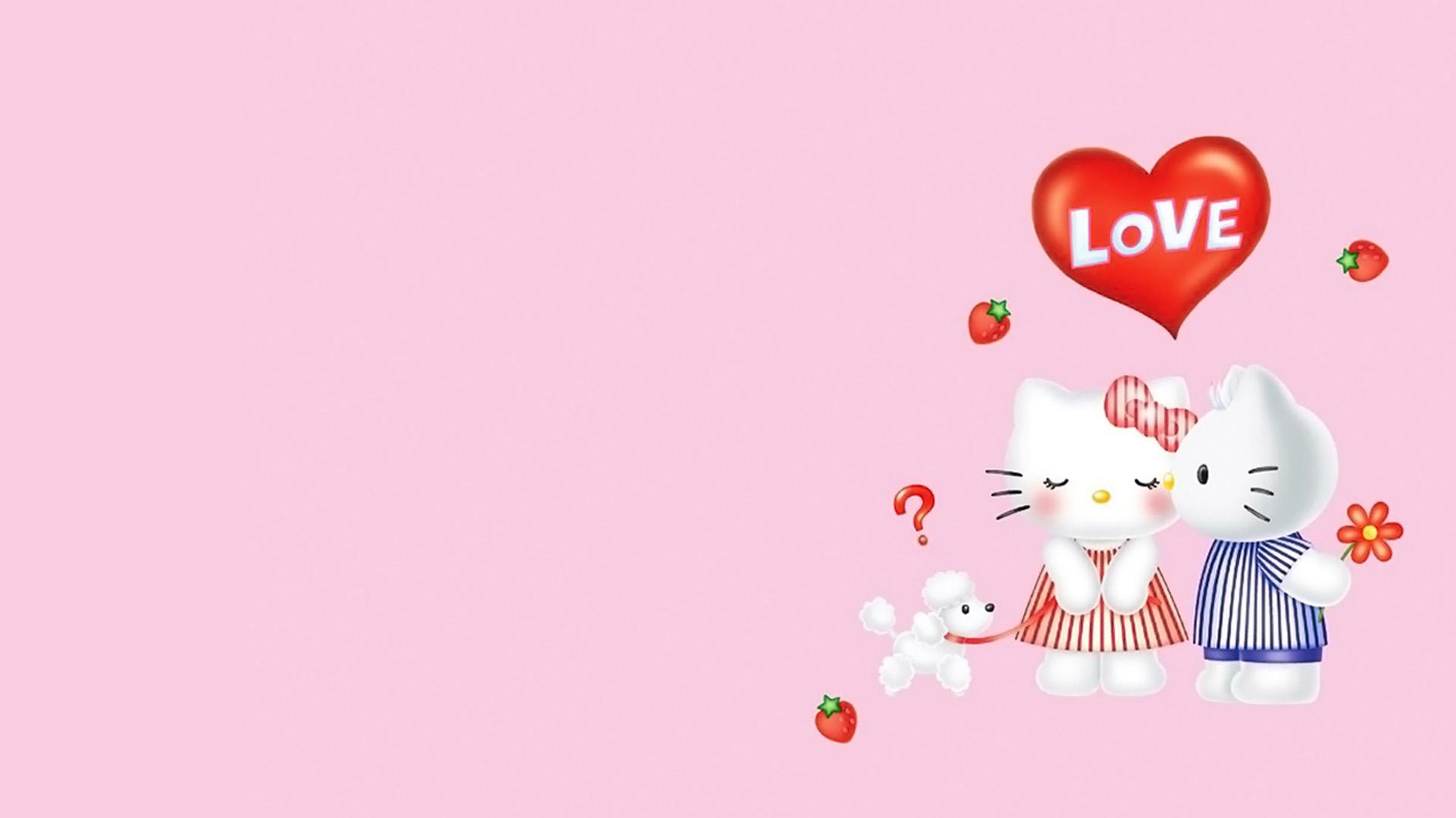 Cute Hello Kitty Wallpaper Wallpapers Cartoons Imagesci 1920x1080