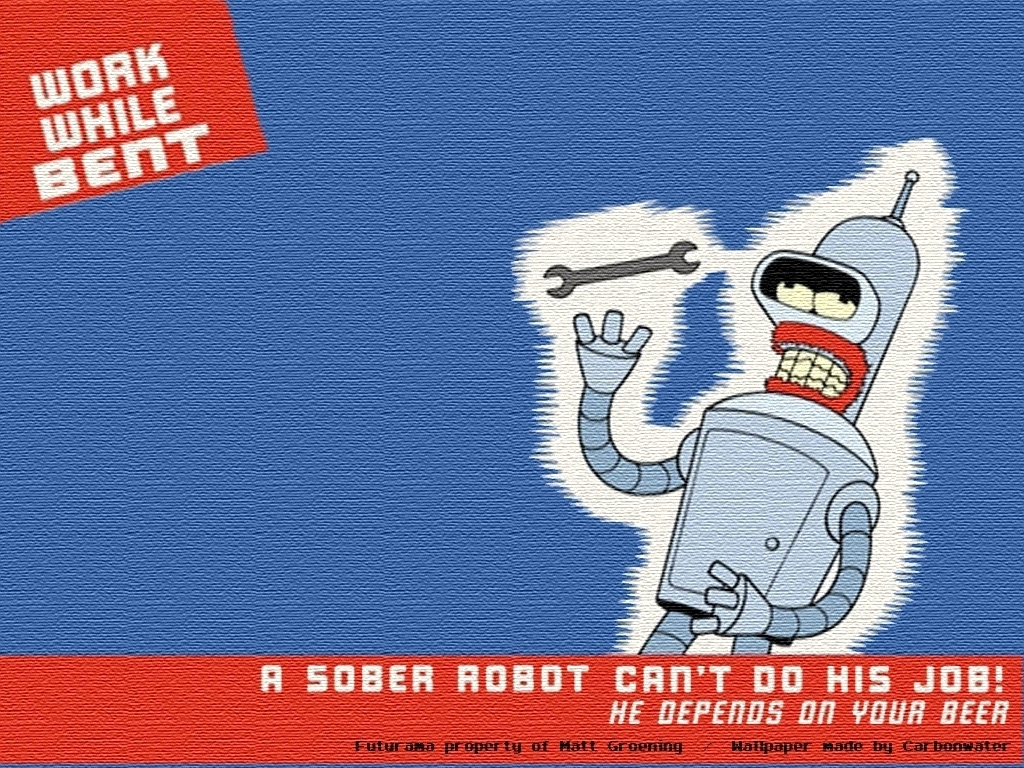 Bender Wallpaper   Bender Wallpaper 21042667 1024x768
