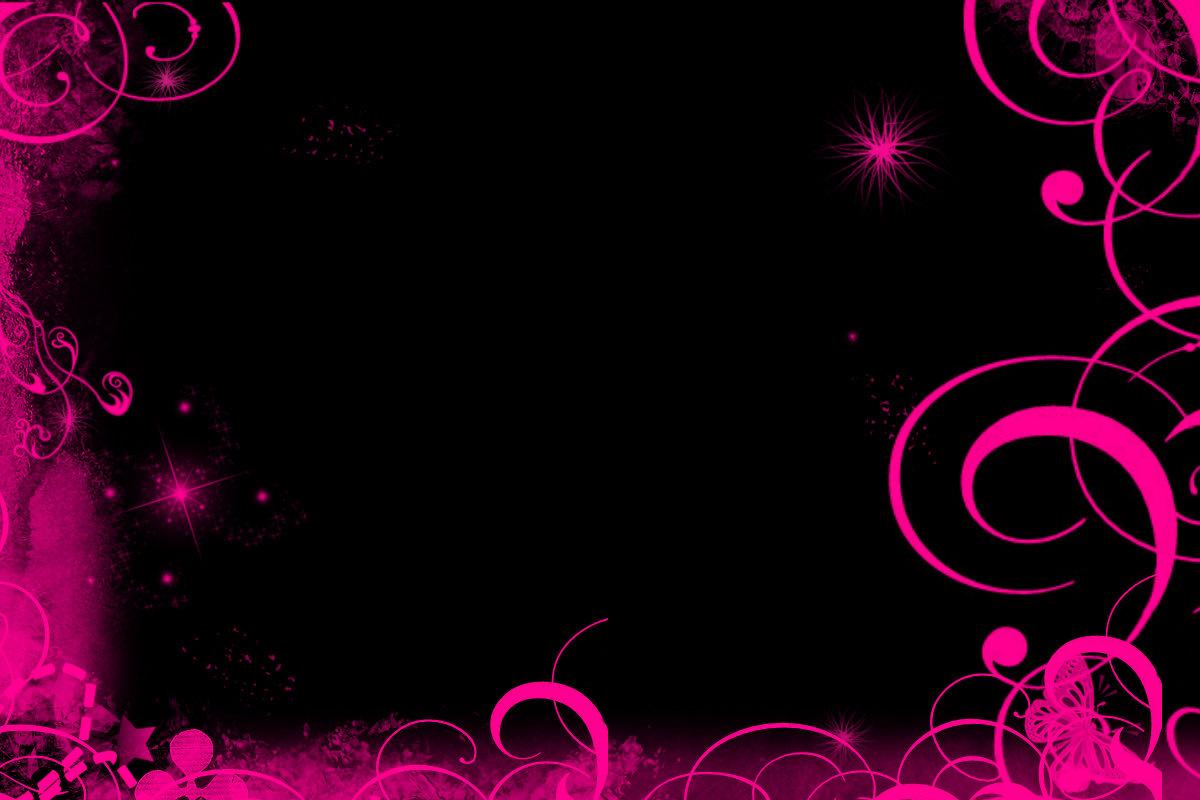 48 Pink And Black Wallpaper On Wallpapersafari