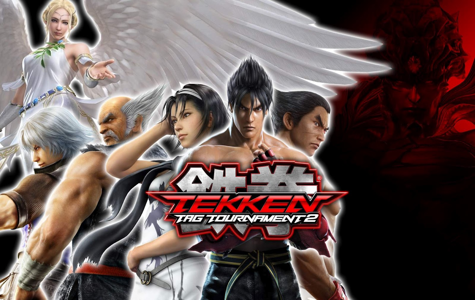 and White Wallpapers Tekken Tag Tournament 2 Characters Wallpaper 1600x1011