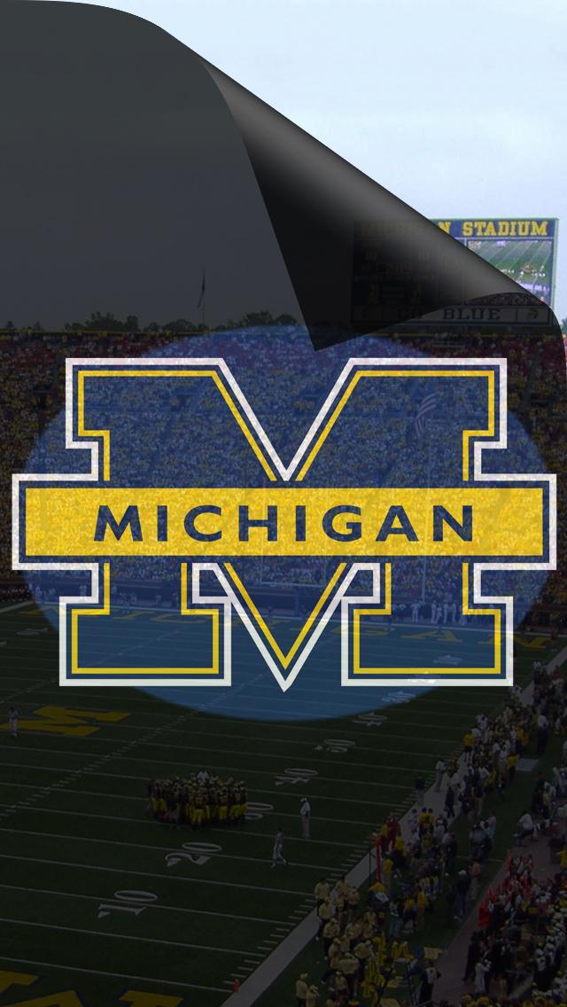 Michigan Wolverines iPhone 5 Wallpaper 640x1136 640x1136
