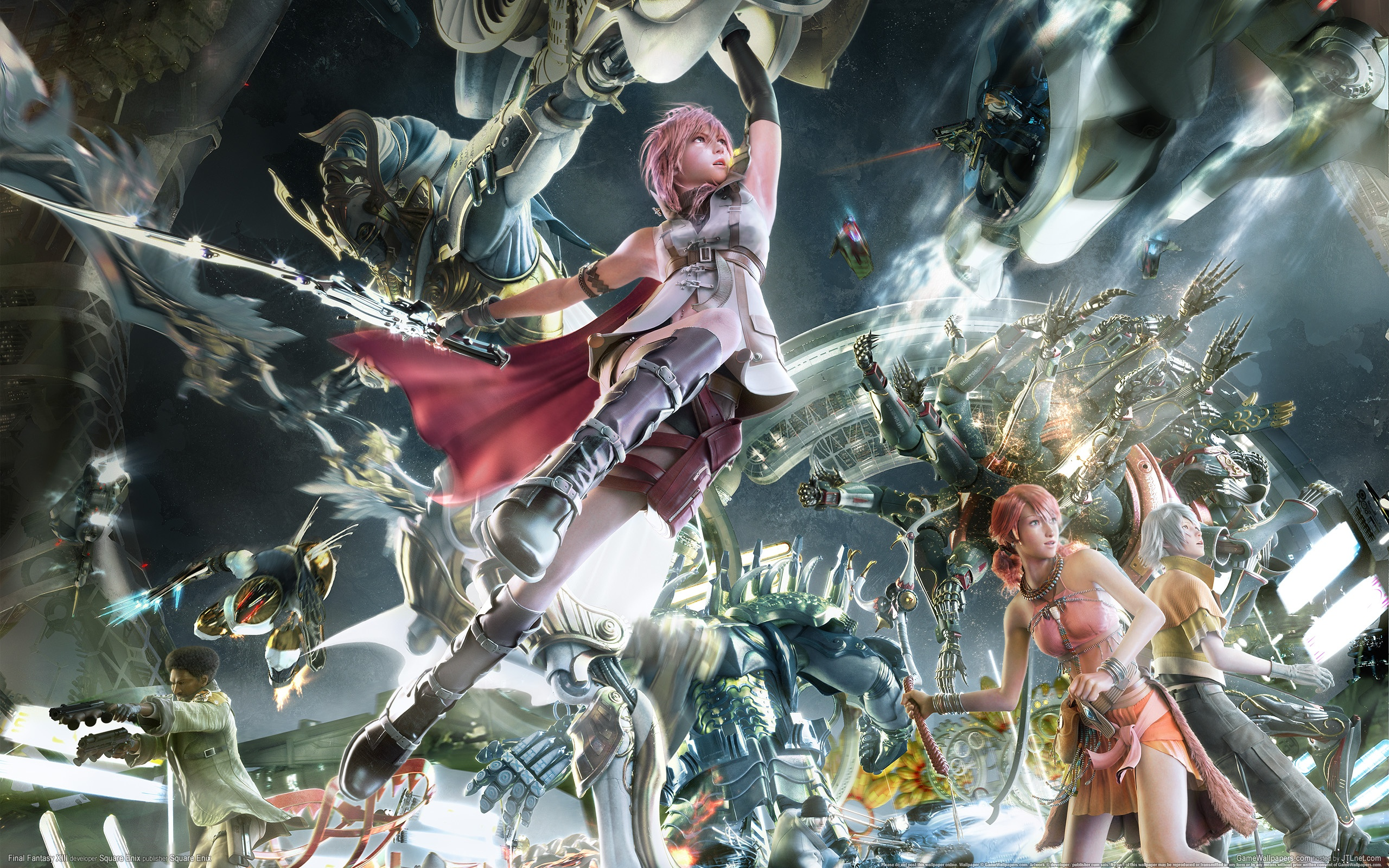 Final Fantasy XIII Tlchargement Complet De Jeu Pc 2560x1600