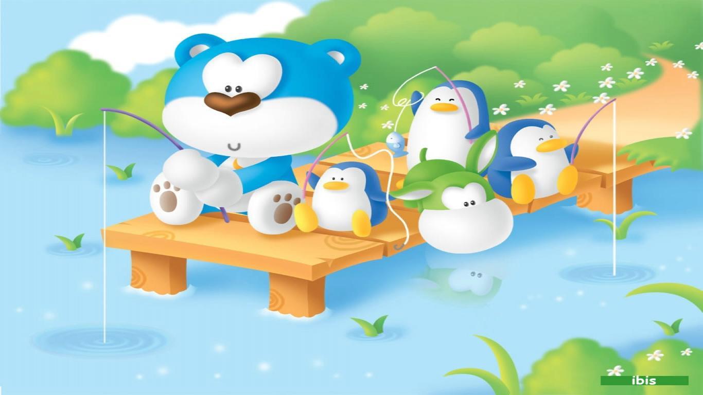 Cartoon Wallpaper Downloads Desktop Image 1366x768