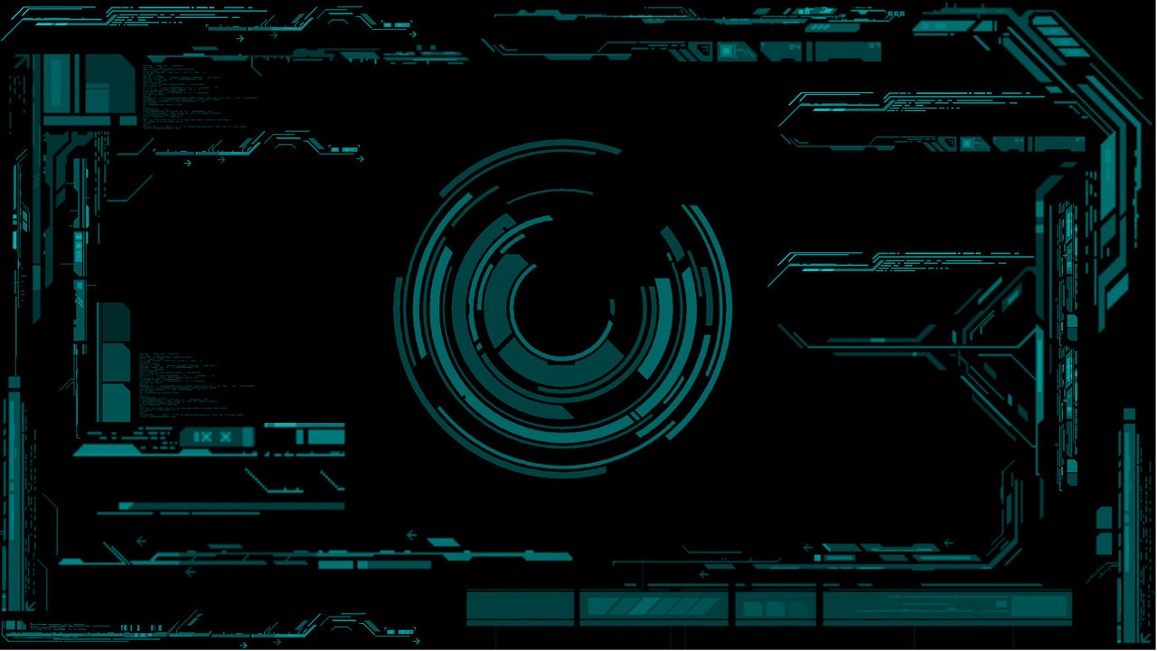 cyber interface by chembletek customization wallpaper science fiction 1280x720