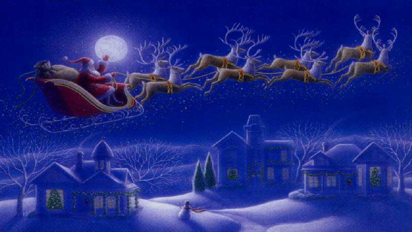 Christmas desktop wallpaper   images photos pics 1366x768