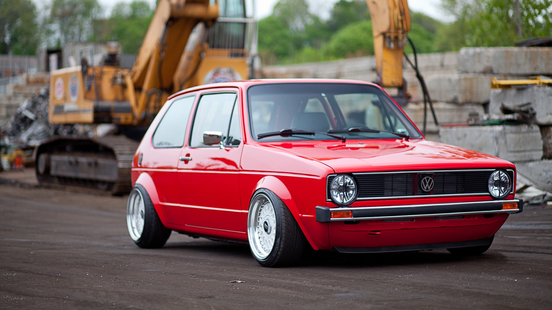 Tuned Golf Mk1 HD Wallpaper 1920x1080 ID51719 1920x1080