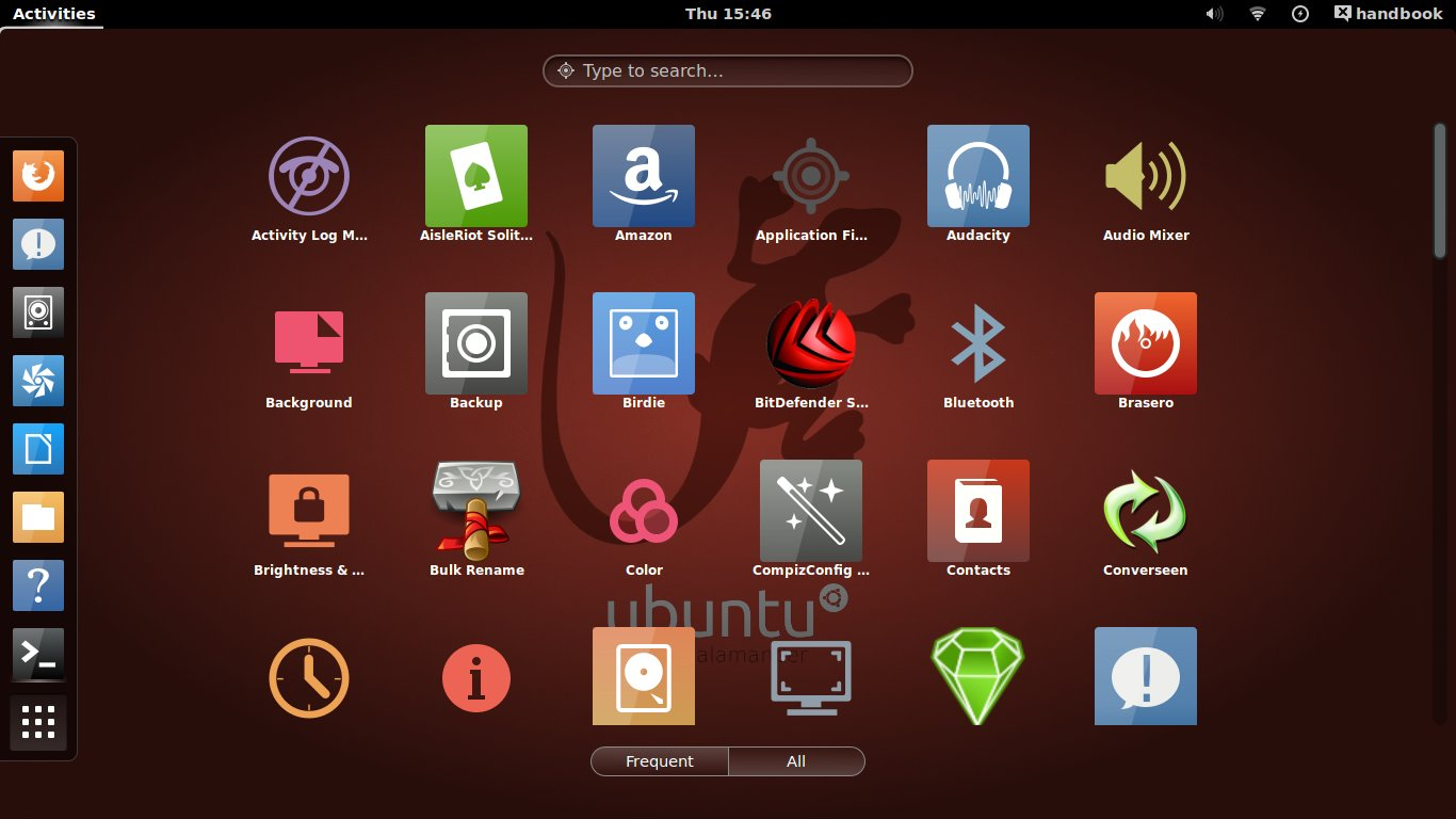 Numix 20 GTK Icon theme in Ubuntu 1310 1404 UbuntuHandbook 1366x768