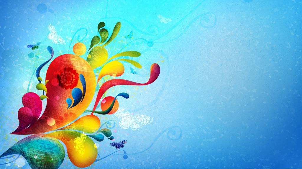 Colorful butterfly backgrounds   SF Wallpaper 1024x576