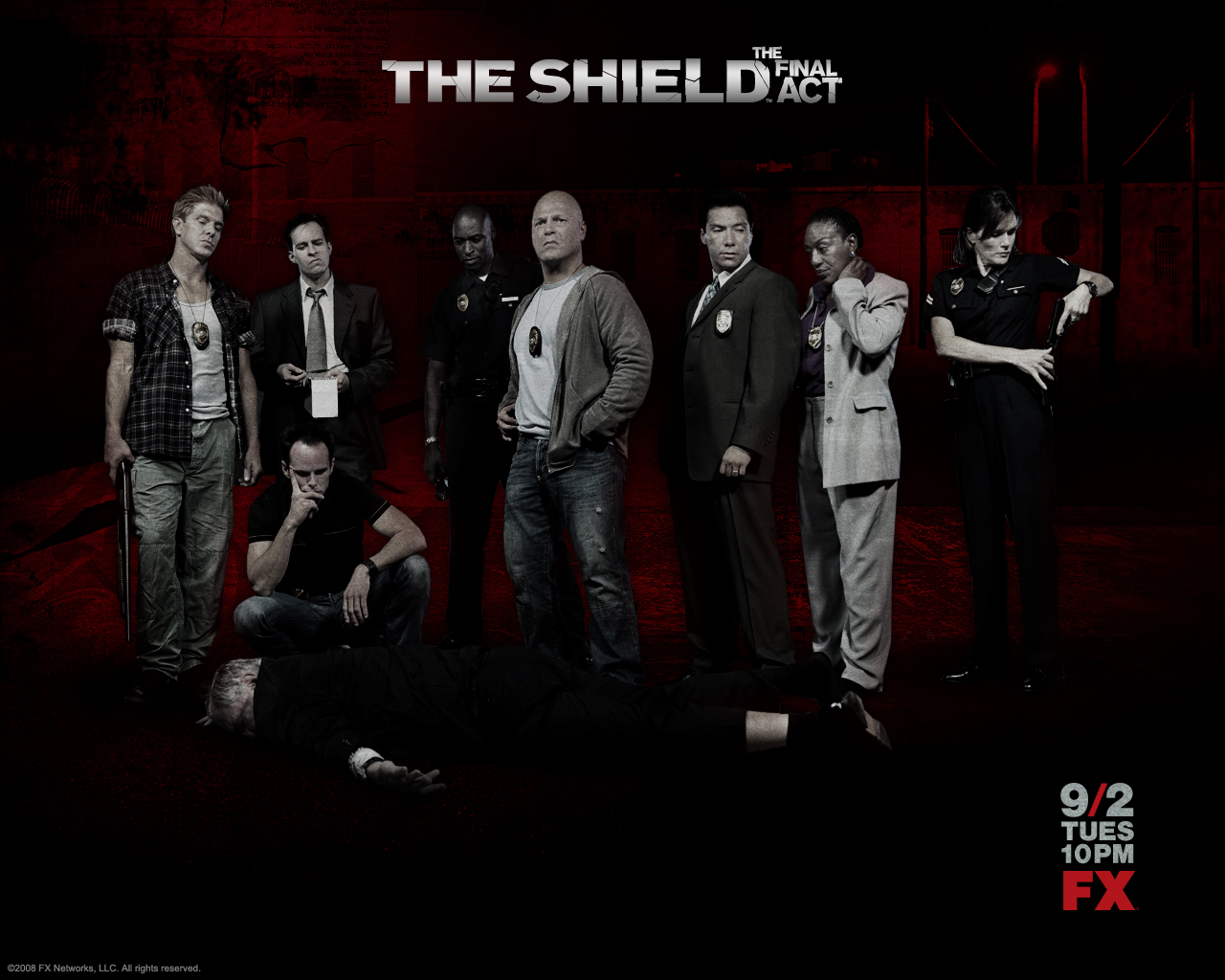 THE SHIELD 2002 2008 Demons Resume 1280x1024