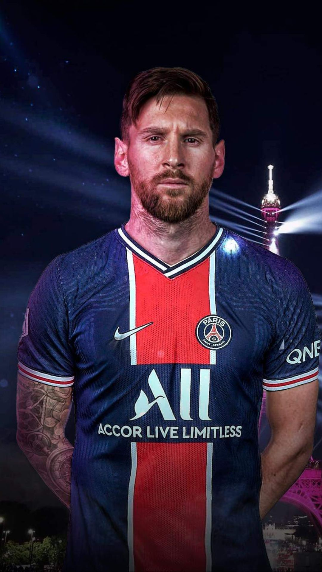 Lionel Messi PSG Wallpapers   Top Best Messi PSG Pictures Photos 1080x1920