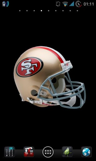 Download 3D San Francisco 49ers NFL LWP for Android   Appszoom 307x512