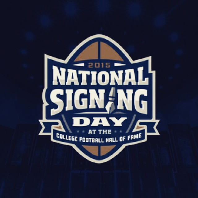 Check out our work for tomorrows National Signing Day event at the 640x640