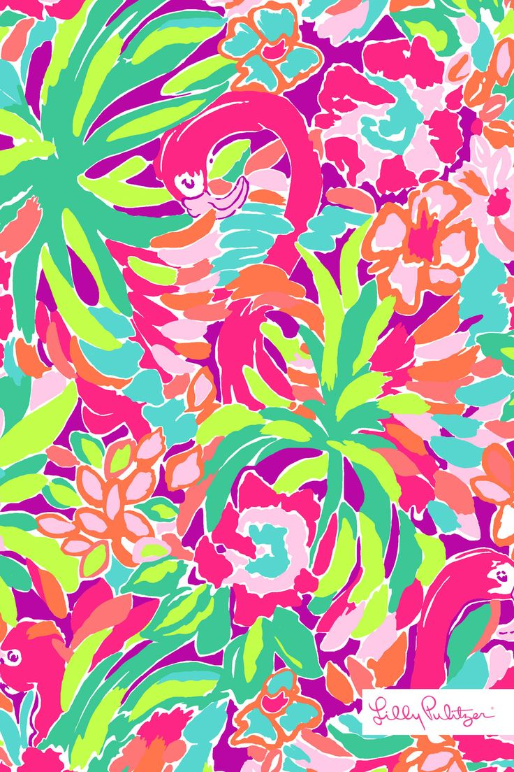 50 Lilly Pulitzer Wallpaper Iphone On Wallpapersafari