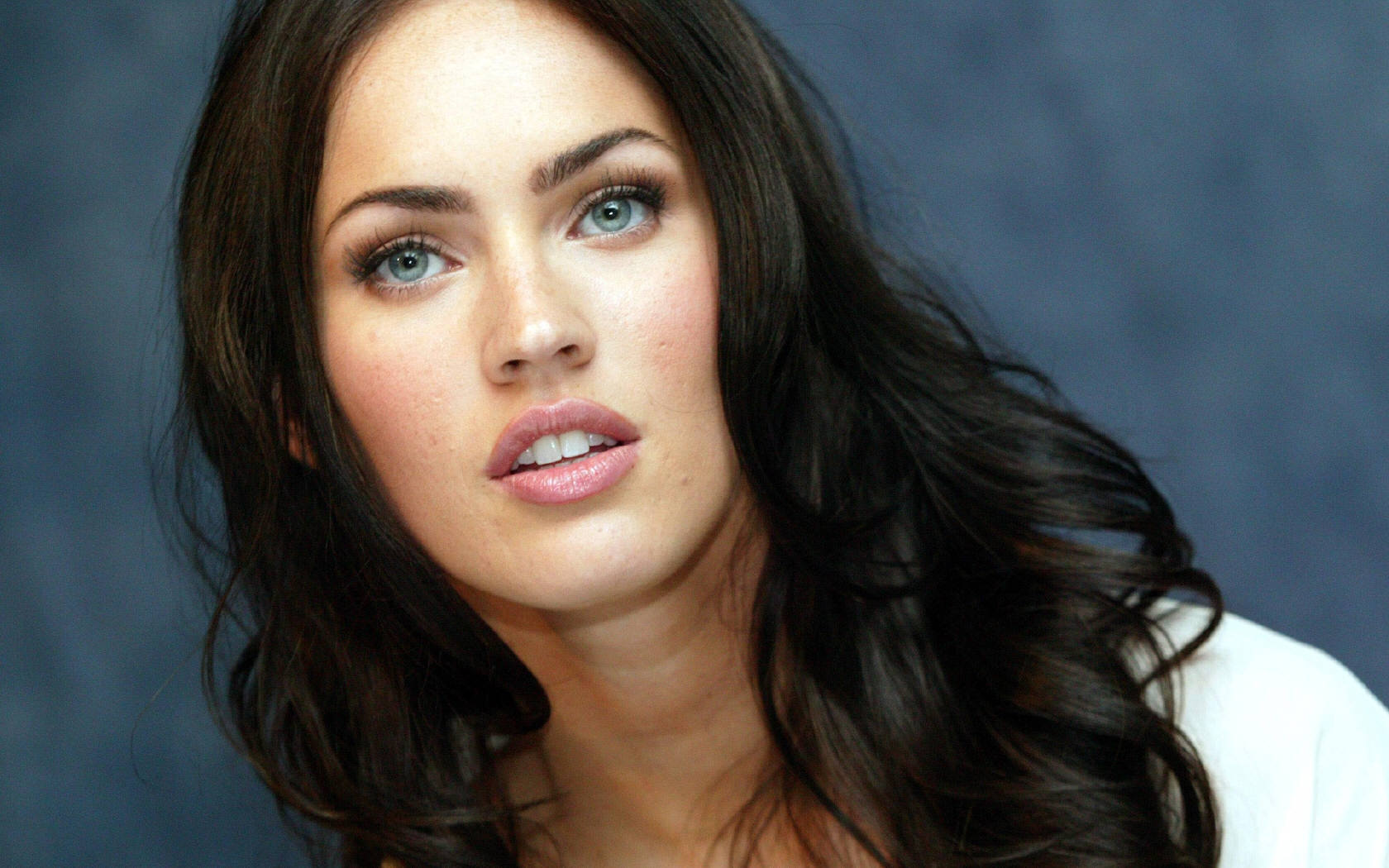 1680x1050 Megan Fox Blue Eyes desktop PC and Mac wallpaper 1680x1050