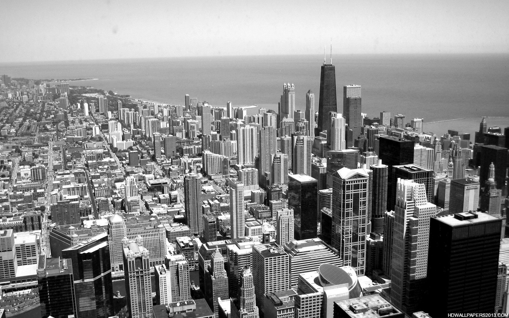 Pics Photos   Black White City Wallpapers And Images 1680x1050