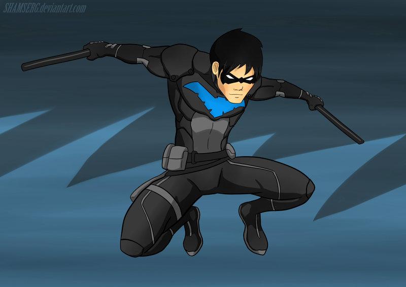 Nightwing YJ by shamserg 800x566