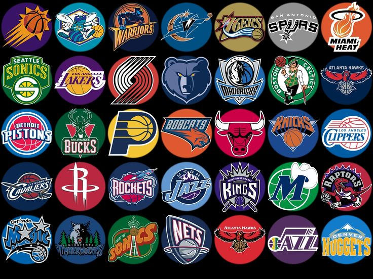 of all NBA teams Identify Pinterest NBA Logos and Wallpapers 736x552