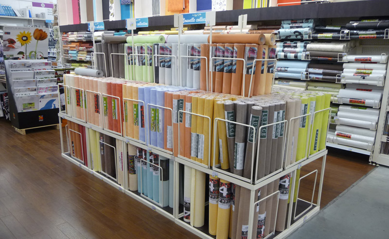 PRODUCTS DISPLAY STANDS FOR DIY STORES Wallpapers display stands 800x493
