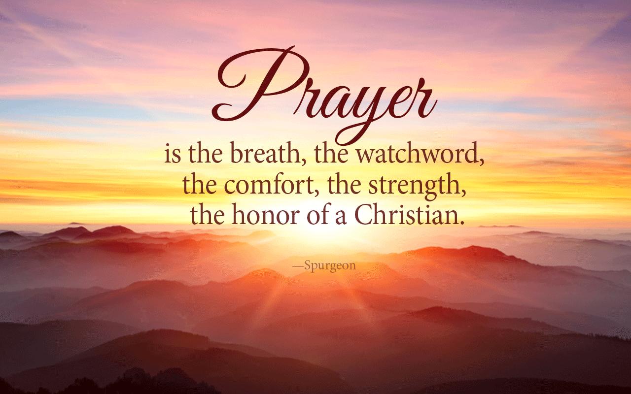 Prayer Desktop Wallpaper