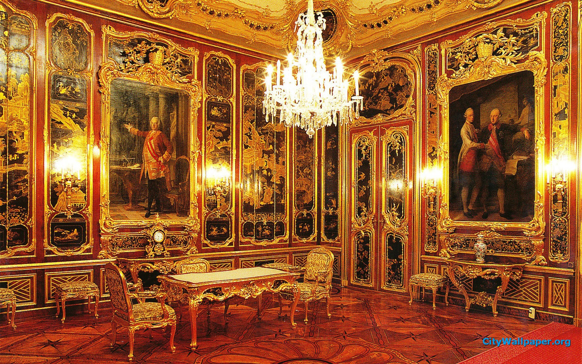 Zoo York Schonbrunn Palace Interior 1129053 With Resolutions 1920 1920x1200