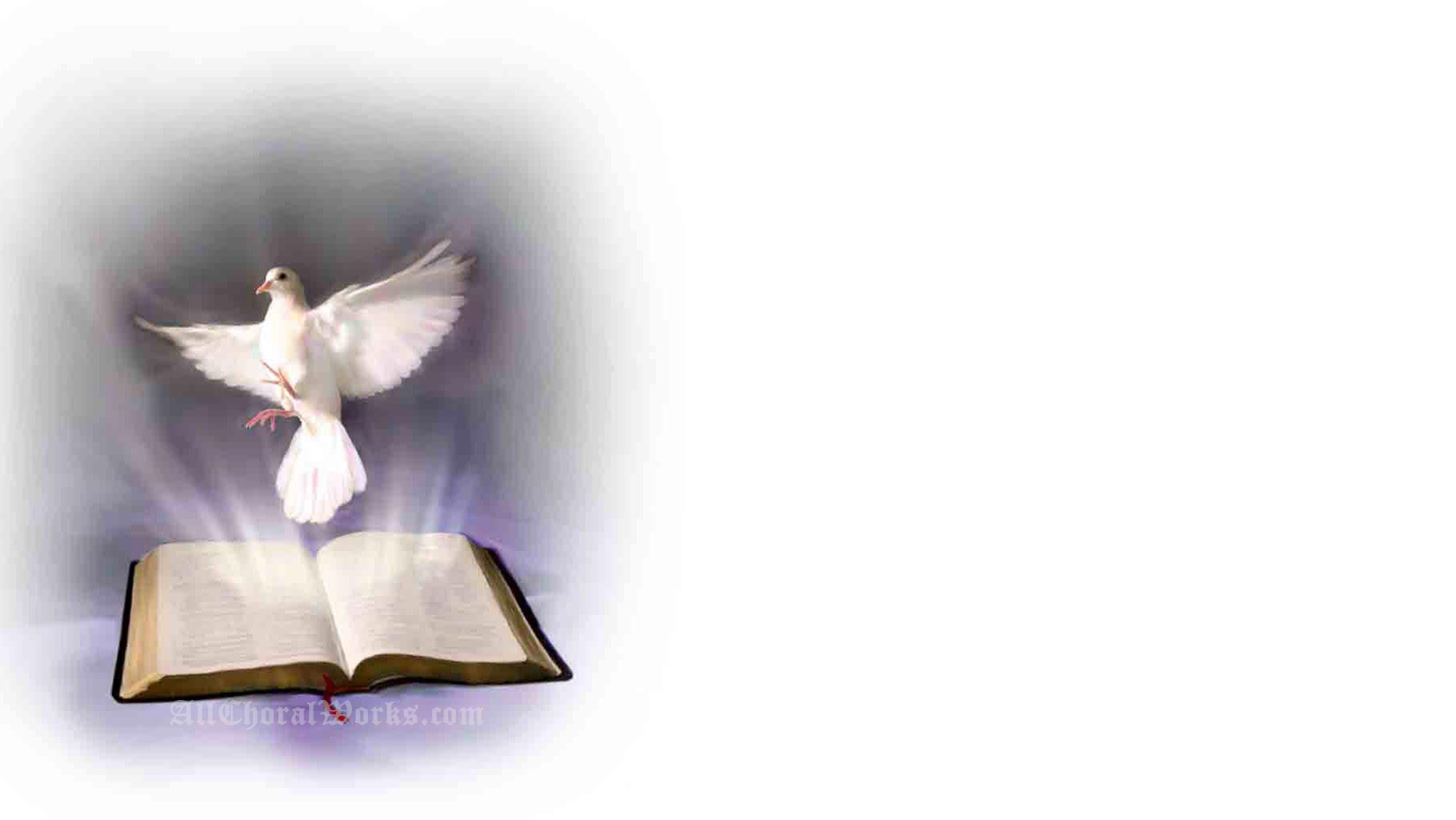 Holy Spirit Backgrounds Wallpapersafari Catholic Powerpoint
