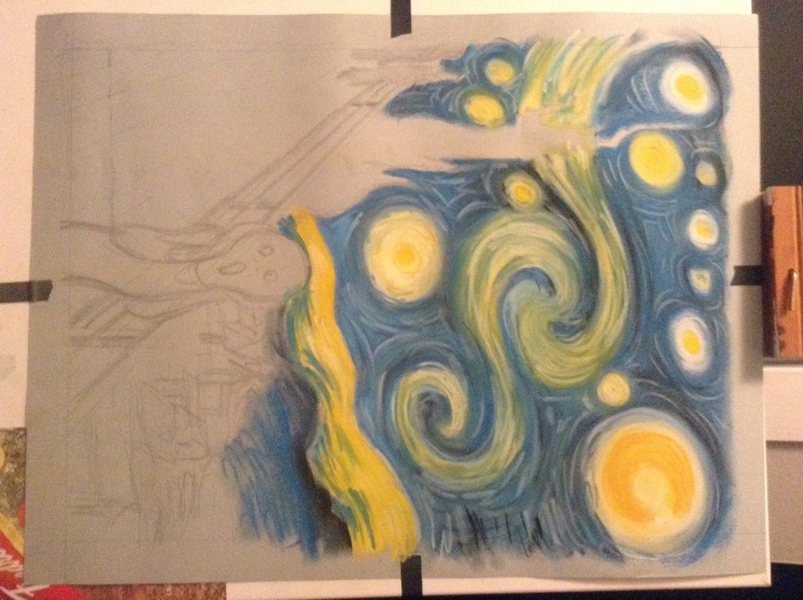 Van Gogh Scream Of course i did feel a little