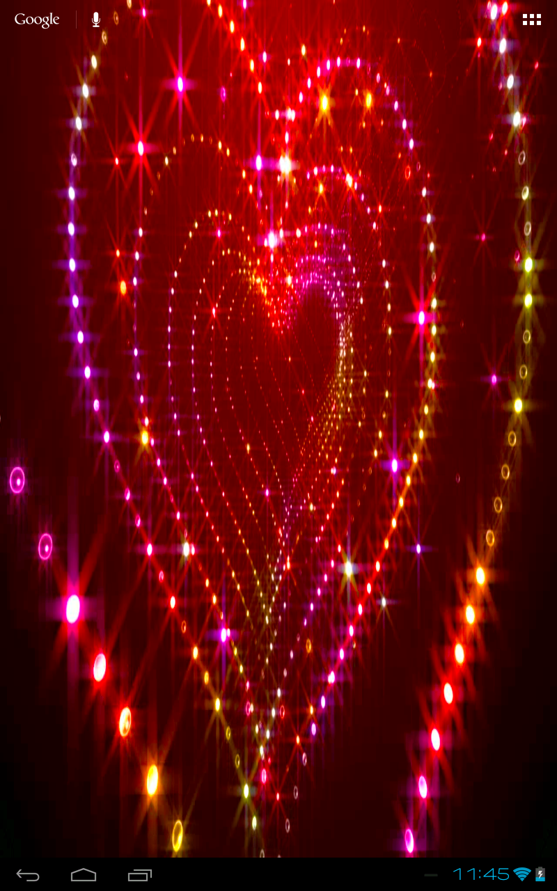 wallpaper glitter heart live sparkle   9455 Nexus 7 Wallpaper 800x1280
