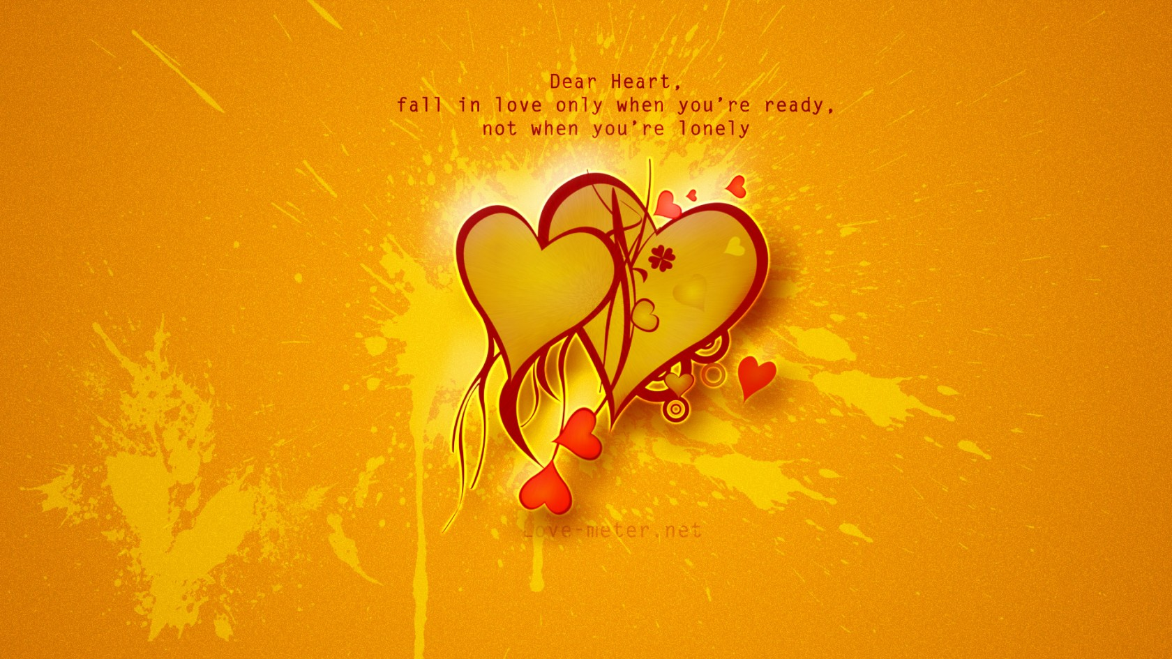 Fall In Love Quotes HD Wallpaper of Love   hdwallpaper2013com 1680x945