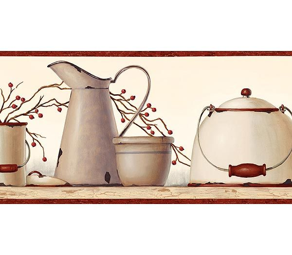 43+] Kitchen Wallpaper Border Ideas on WallpaperSafari