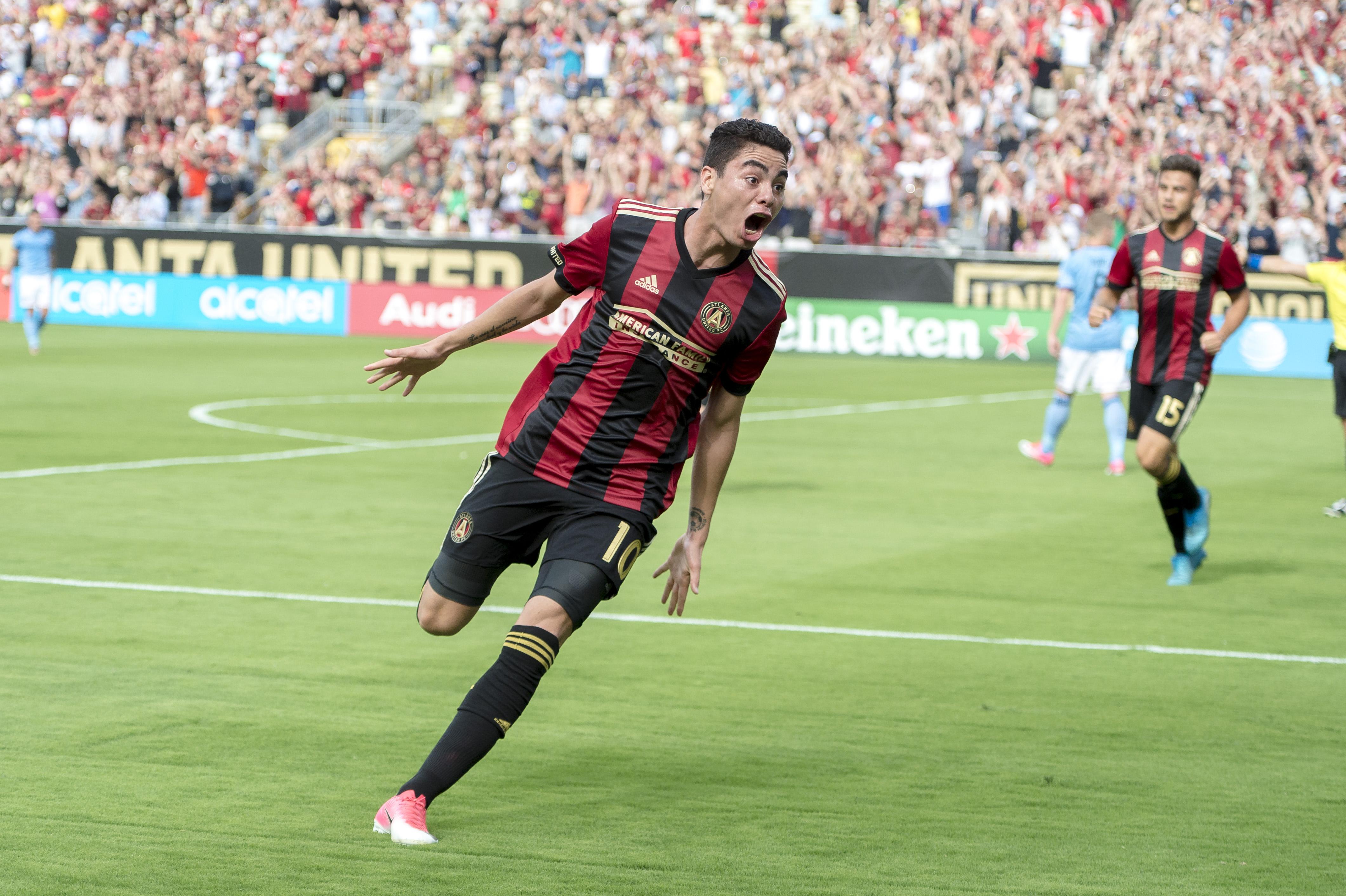 Miguel Almirn named to MLS Team of the Week in back to back weeks 4241x2823